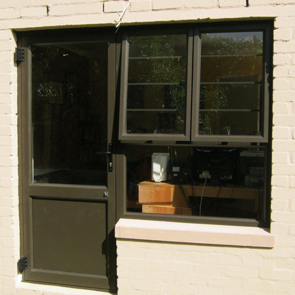 Casement Window and Hinged Door